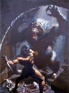 'Conan & Ape' by Ezra Tucker