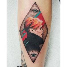 Moonage Daydream - Incredible and Touching David Bowie Tattoos That Prove Ziggy Stardust Lives On - Photos