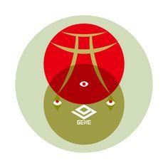GENE Symbol Logo, Diagram, Symbols, Chart, Logos, Icons, Logo, Glyphs, Legos
