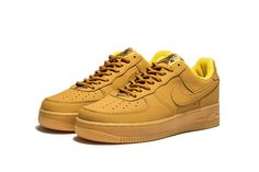newest 44ecc 2a737 Nike Air Force 1 Low Wheat AF1 Nike Workout Shoes, All Nike Shoes, Nike