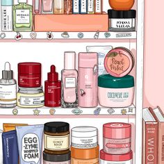 Pink Shelfie 3 Art Print by awporegirl