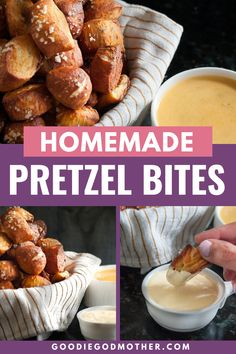 Pretzel bites are the perfect party snack food! Add these pretzel bites with green chili cheddar and mustard dipping sauces to the menu & win party MVP. Low Carb Appetizers, Easy Appetizer Recipes, Snack Recipes, Snacks, Appetizer Ideas, Bread Recipes, Catering Food Displays, Bar Catering, Fruit Displays