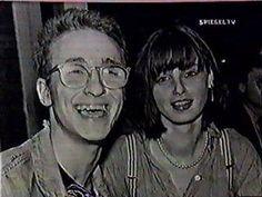 Christiane avec Alexander Hacke.