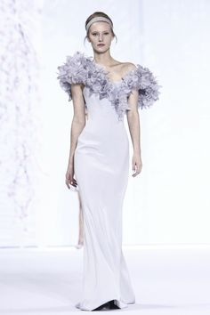 Ralph & Russo Couture Spring Summer 2016 Paris...A beautiful classic silhouette. Change to bridal fabric & embellishments that fits the wedding theme.