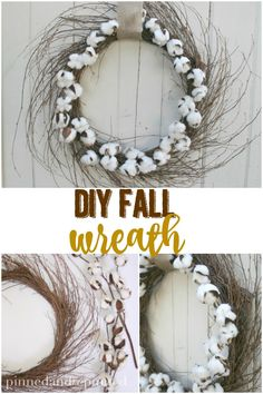 DIY Fall wreath that