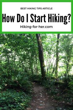 If you want to start hiking but aren't sure how to get on the trail, these tips are for you!