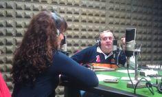 """""""Jueves de coaching"""" en OndaCero Puertollano, entrevistada por Benjamín Hernández."""