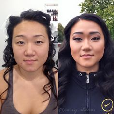 Wedding makeup trial done by me at Sassy Shears
