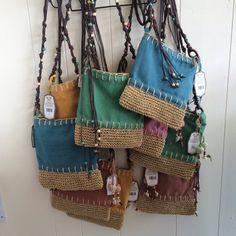 Monogram Cross Body bags,Beach bag, fashion bag, - Care Tutorial and Ideas Diy Bags Purses, Purses And Handbags, Denim Purse, Medicine Bag, Handmade Purses, Fabric Bags, Fashion Bags, Party Fashion, Fashion Handbags