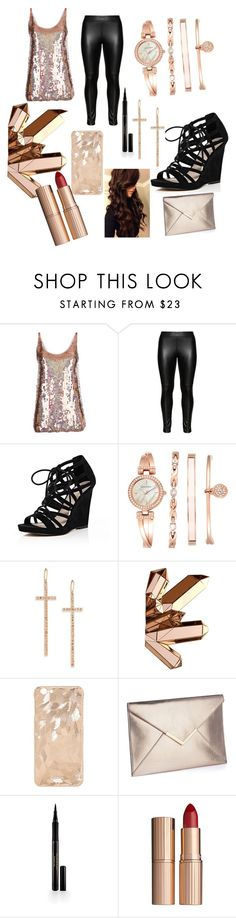 """Untitled #79"" by luckylover0801 ❤ liked on Polyvore featuring STELLA McCARTNEY, Studio, River Island, Anne Klein, LJ Cross, Marvel Comics, Elizabeth Arden and Charlotte Tilbury"