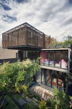 Contemporary Eclectic Casa PN Residence in Mexico | Home Design Lover