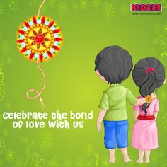 This Raksha Bandhan express love by crafting a colourful RAKHI for your brothers and share images with us.