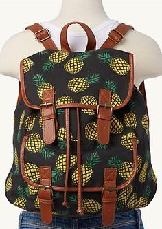 Houseplants for Better Sleep Image Of Pineapple Backpack Pineapple Room, Pineapple Girl, Pineapple Clothes, Cute Pineapple, Pineapple Images, Pineapple Ideas, Pineapple Backpack, Estilo Tropical, Cute Backpacks