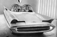 1955 Lincoln Futura - I believe our ideas of the future were often greater than future became.