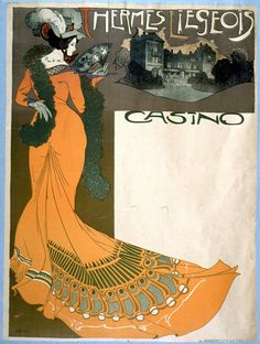 Liège Spa Casino by Georges de Feure (no date given)