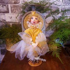 Princess- Handmade Art Doll - Artistic Doll - Handmade - Doll - Collectible - Old Fashioned - OOAK Doll - Fine Art Doll - Miniature by Rustiikkitupa on Etsy