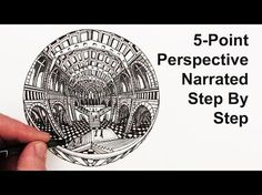 How to Draw 5-Point Perspective: Narrated - YouTube
