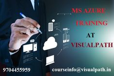 Visualpath provides the best Training on MS Azure Technology.MS Azure Training in hyderabad and MS Azure Online Training by Visualpath provides the project based training.The ultimate goal of our IT training courses is to help students to improve their technical skills and prepare them to advance in one's professional life. Our training is job oriented designed to prepare  for certification exams and real solutions for  improving productivity at work.