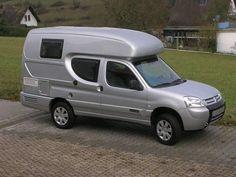 Berlingo mini camper Pickup Camper, Car Camper, Mini Camper, Camper Caravan, Camper Van, Camper Rental, Mini Motorhome, Kombi Motorhome, Tiny Trailers