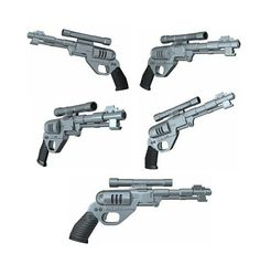 DE10 Blaster Pistol  Mandalorian by NukedEFX on Etsy