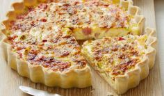 The best Quiche recipes - from classic quiche Lorraine to our delicious Leek and camembert quiche recipe, we've got the right quiche recipes for you Quiches, Bacon Egg Bake, Lorraine Recipes, Gourmet Recipes, Cooking Recipes, Easy Quiche, Breakfast Quiche, Quiche Recipes, Savoury Recipes