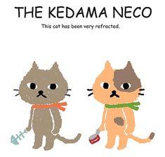 kedama neko =Pilling ball cat