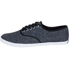 Diese grauen #Sneaker in #Melangeoptik sind tolle Begleiter für die Freizeit ab 34,95€ ♥ Hier kaufen: http://stylefru.it/s201350 #keds #schuhe #meliert #grau