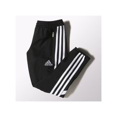 adidas Condivo14 Training Pants ($40) ❤ liked on Polyvore featuring activewear, activewear pants, adidas activewear, adidas and adidas sportswear