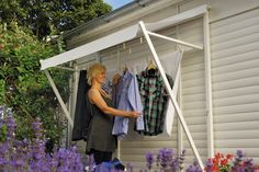 Porch Area, Home Tech, Garden Yard Ideas, Wall Spaces, Outdoor Projects, House Rooms, Home Organization, Laundry Room, Pergola