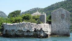 Skutarisee Montenegro, Gefängnisinsel, Foto: S. Hopp