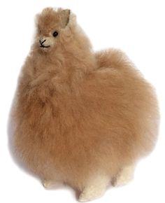 "Amazon.com: Standing Baby Alpaca Fur Alpaca ""Cria"" Figure - Multi Colored 5 Inch: Toys & Games"