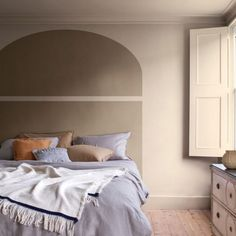 Dulux Paint Colour Of The Year, Dulux Paint Colours Neutral, Color Of The Year, Bedroom Styles, Bedroom Colors, Bedroom Ideas, Brave, Easy Painting Projects, Rustic Wooden Table