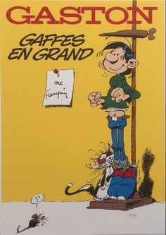 Franquin, André - Para-BD Caricatures, Lucky Luke, Science Fiction Art, Reference Images, Vintage Comics, Portraits, Illustrations, Mickey Mouse, Cartoon