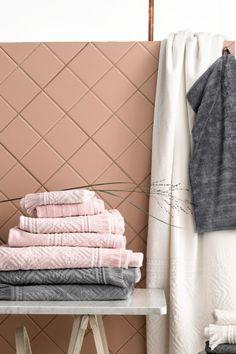 2条装客用毛巾 - 浅粉红 - 家居 | H&M CN 1