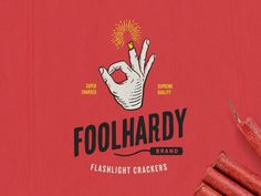 Foolhardy Firecrackers by Steve Bullock #Design Popular #Dribbble #shots