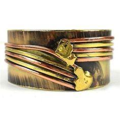 Copper Directions Brass Cuff - Brass Images Handmade in South Africa Cuff Jewelry, Cuff Bracelets, Silver Jewelry, Gold Jewellery, Fashion Bracelets, Fashion Jewelry, Bracelet Display, Fair Trade Jewelry, Brass Cuff