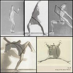 """Wassily Kandinsky, """"Tanzkurven: Zu den Tänzen der Palucca"""" (1926)"""