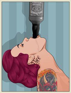 I think i just found my next tattoo..... Pop Art / Matt Edwards