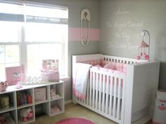 baby girl bedding pink and gray | Anyone do baby pink & gray for a girlb nursery?? - The Bump