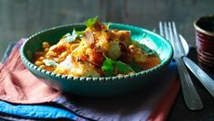 BBC - Food - Recipes : Moroccan fish stew - the BEST! Fish Recipes, Seafood Recipes, Italian Fish Stew, Healthy Dinner Recipes, Cooking Recipes, Weeknight Recipes, Fodmap Recipes, Fish Dishes, Soups And Stews