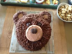 3 Little Things...: Easy Bear Cake