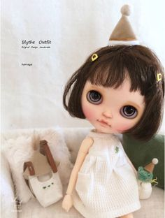 *Blythe outfit・パペット・洋服set♪ *_画像5