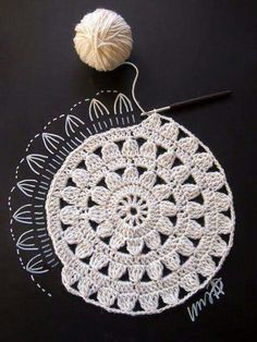 Transcendent Crochet a Solid Granny Square Ideas. Wonderful Crochet a Solid Granny Square Ideas That You Would Love. Crochet Diy, Crochet Motifs, Crochet Diagram, Crochet Squares, Love Crochet, Crochet Crafts, Crochet Doilies, Crochet Flowers, Crochet Projects