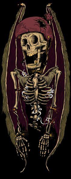 Black Skulls Series on Behance