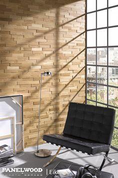 Met PanelWood haalt u de natuur in huis! PanelWood geeft uw wanden een speciale 3D look met een zeer exclusieve uitstraling. Gemaakt van massief hout en afgewerkt met UV-uitgeharde hardwax zorgt PanelWood voor een unieke sfeer in uw woon- slaap- of badkamer. PanelWood is hout van de beste kwaliteit, eenvoudig zelf aan te brengen en zeer aantrekkelijk geprijsd. Kijk voor meer informatie op www.panelwood.nl