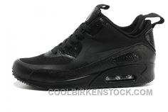 quality design 881d2 55eac http   www.airgriffeymax.com soldes-toutes-sortes-de-styles-femme-nike-air- max-90-mid-winter-no-sew-sneakerboot-ns-noir-sombre-grise-rose-vente-dis…