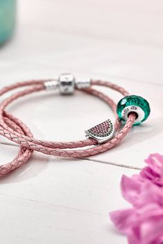 This mouth-watering watermelon charm in vibrant colors will add a playful element to your styling and make you feel as if you are carrying a little slice of summer wherever you go. #PANDORA #PANDORAcharm