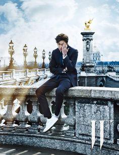Lee Min Ho makes way to Paris with 'W Korea'   allkpop