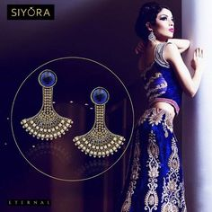 #Classy #earrings for the woman of today by #Siyora !  Whatsapp +91-9769714221 for placing order and more details.  #jewelry #Jewellery #onlinestore #onlineshopping #onlinejewellery #designer #gold #contemporary #conceptjewellery #xmastree #xmas #Christmas #earringsforsale #indian #fashion #fashionista #fashionjewelry #fashionearrings #bollywoodfashion #beautyblog #delhifashionblogger