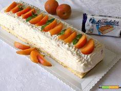 Semifreddo all'albicocca  #ricette #food #recipes